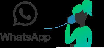 יצירת קשר באמצעות WhatsApp